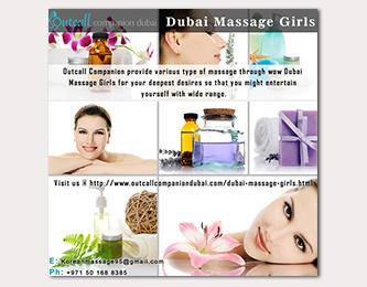 Dubai Massage Girls