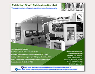 Exhibition Booth Fabrication Mumbai