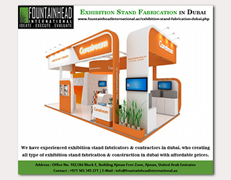 Exhibition Stand Fabrication Dubai