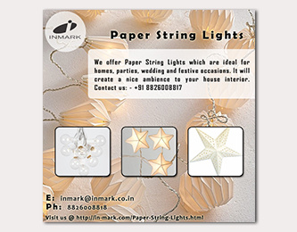 Paper String Lights